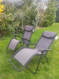 Camping/fold up garden chairs