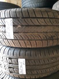 205 70 15 part worn tyres nearly new used tirez