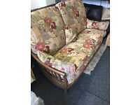 Ercol sofa and chair £350 includes delivery