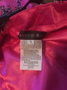 Alyce Hot Pink Grad/Prom/Special Occasion Dress London Ontario image 3