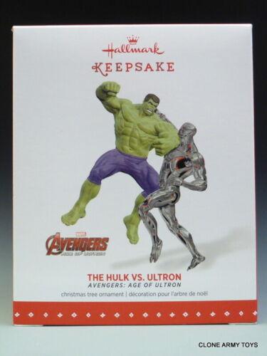 2015 The Hulk Vs Ultron Age Of Avengers Marvel CHRISTMAS KEEPSAKE ORNAMENT