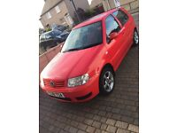 VW Volkswagen Polo 1.4 2001 y plate Low Mileage 83460 New Mot new parts
