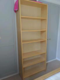 Free Billy Bookcase in Oak Veneer