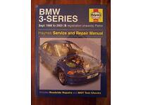 Haynes Manual: BMW 3 Series Like new