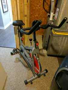 Sunny indoor fitness bike! Like new!! With tracker