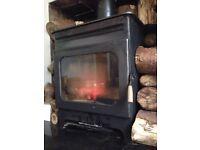 Burley Brampton woodburning stove, medium 2kw -8kw