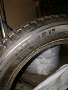 Michelin X-Ice 225/50/17 for sale