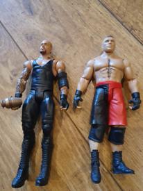 WWE Undertaker and Brock Lesnar