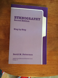ethnography step by step, 2nd Ed., 1998, Fetterman