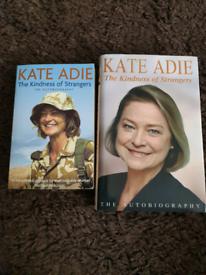 ** MUST GO ** Katie Adie autobiography x2
