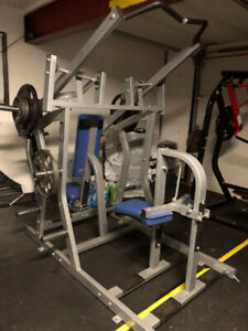 Hammer Strength - Chest Press and Back Pulldown Plate Loaded