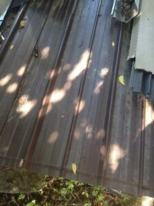 Brown Steel Roofing