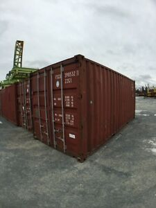 20' used containers. Like new.