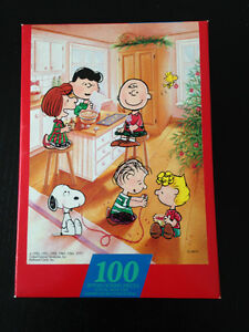 CHARLIE BROWN CHRISTMAS PUZZLE-BAKING-