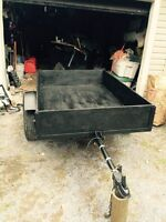 4x6 inspected utility trailer