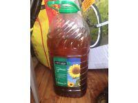 Sunflower oil FREE!