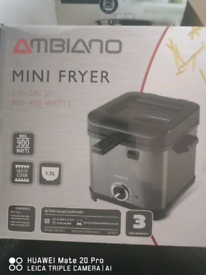 Mini fryer collection only