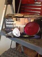 2 Red flood light kits