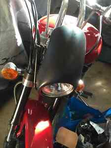 Yamaha Roadstar Warrior headlight cowl.