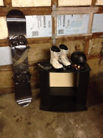 Complete Snowboard Package - Barely Used