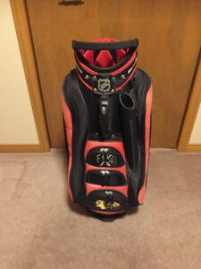Chicago Blackhawks  Golf Bag in Very Nice Condition