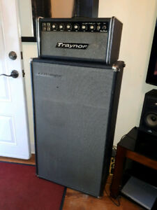 "Sell/Trade, Vintage Traynor ""All Tube"" Head with Traynor Cabinet"