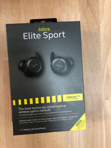 Jabra Elite Sport In-Ear Noise Cancelling Wireless Earbuds