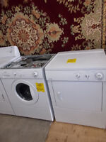 Kenmore stackable front load washer and dryer. $699.