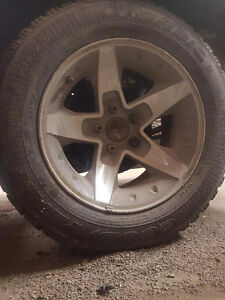 Set of s10/Sonoma rims and tires