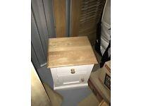 Two Oak bedside tables from Silcox & Sons in Bath
