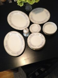 NORI FINE CHINA 7723 BENTLEY LIKE NEW  $285.00 OBO  705-644-2002
