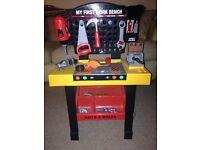 Toy work bench