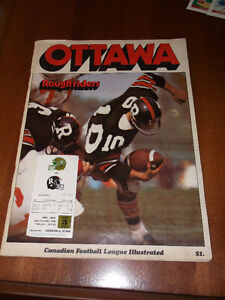 CFL CARDS -- CFL MAGAZINES & NFL CARDS