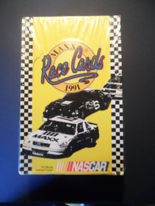 1991 MAXX NASCAR RACE CARDS