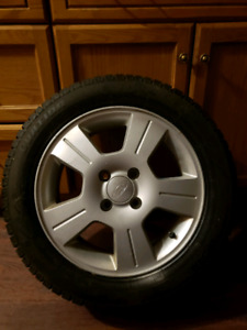 205/55/16 winter tires new 4x108 bolt patteren