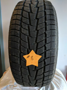 USED WINTER TIRES - 17 INCH SIZES - 5 SETS