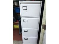 Storage Connections Plus Lockable Four Draw Filing Cabinet with 2 keys