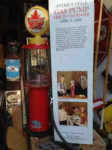ONE SUPERTEST ANTIQUE STYLE GAS PUMP LIQUID DISPENSER