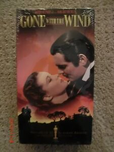 VHS MOVIE GONE WITH THE WIND