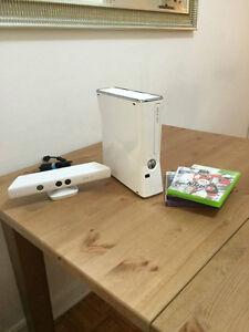 XBOX 360 édition spéciale + Kinect + Dans la boîte