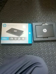 BRAND NEW HP 250gb ssd solid state drive