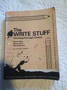 THE WRITE STUFF - Thinking through Essays Windsor Region Ontario image 1
