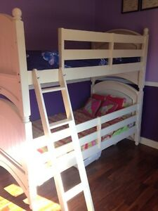Girls solid wood bunk beds