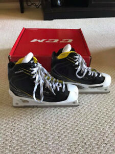 New CCM Tacks 6092 Goalie Skates 8.0
