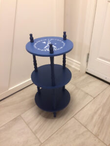 Blue Occasional Table