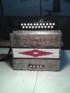 Accordeon Hohner  Sol,Do