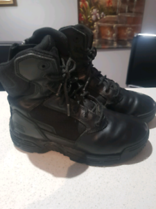 Magnum leather boots.