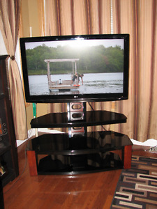 LG Flat screen TV with stand
