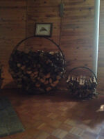 Firewood Ring Holders