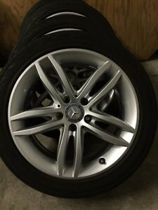 Original Mercedes C300 2013 Mags and Tires